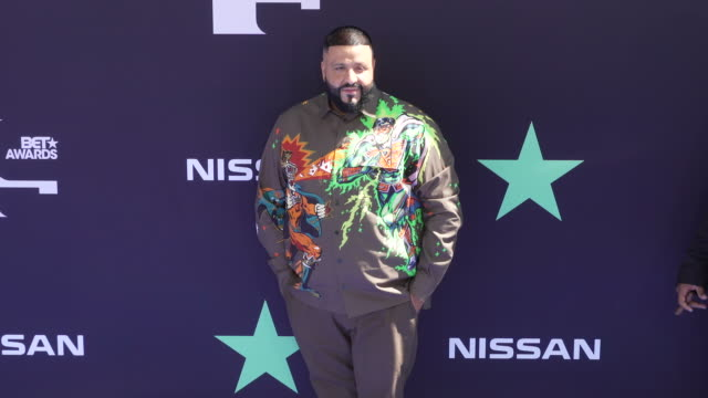 dj khaled at the 2019 bet awards at microsoft theater on june 23 2019 in los angeles california - bet awards stock-videos und b-roll-filmmaterial