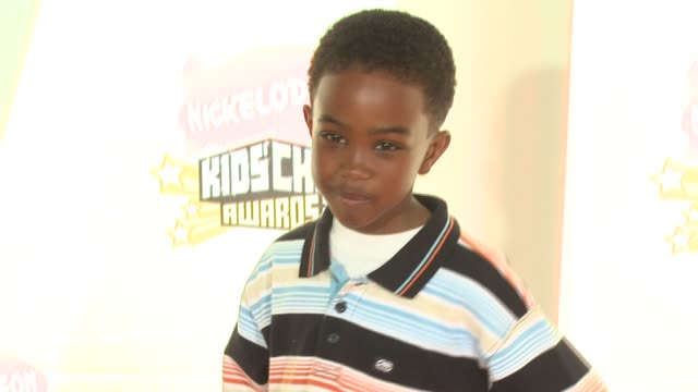 khamani griffin at the 2007 nickelodeon's kids' choice awards at ucla's pauley pavilion in los angeles, california on march 31, 2007. - khamani griffin stock videos & royalty-free footage