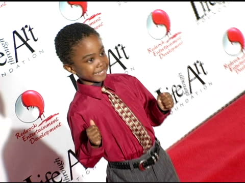 khamani griffin at the red party benefiting the life through art foundation at the shrine auditorium in los angeles, california on december 5, 2004. - khamani griffin stock videos & royalty-free footage