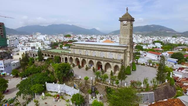 the mountain church nha trang, khanh hoa province, vietnam - 1945 stock videos & royalty-free footage