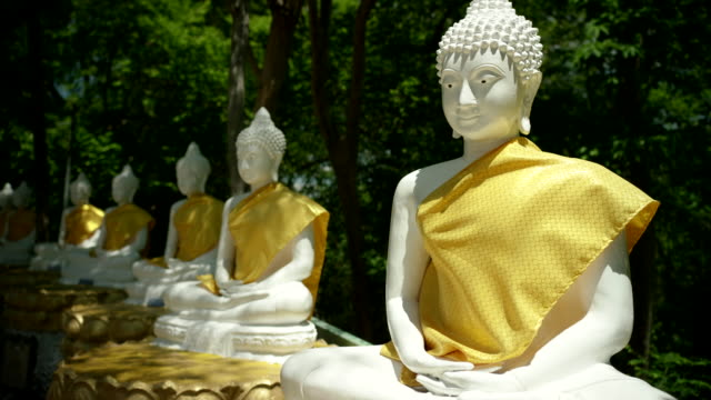 khao chedi temple - buddha stock-videos und b-roll-filmmaterial