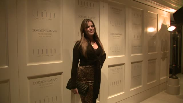 Khloe Kardashian at the Gordon Ramsay at The London West Hollywood at Los Angeles CA