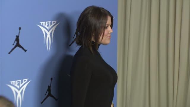 Khloe Kardashian at the Hollywood Celebrates the Debut of Jordan Melo M5 at Los Angeles CA