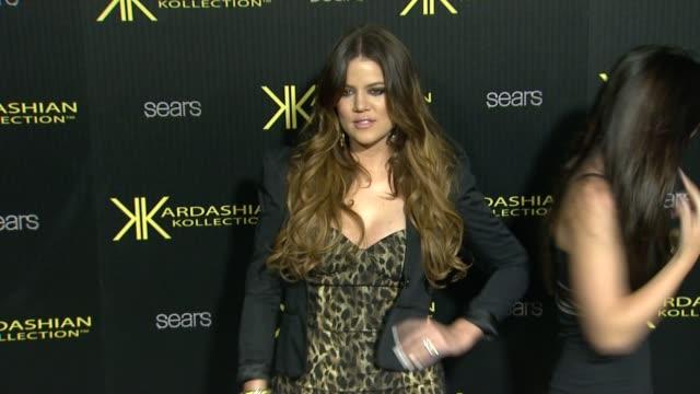 Khloe Kardashian at the Kardashian Kollection Launch Party at Los Angeles CA