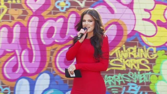 Khloe Kardashian at the Khloe Kardashian Joins The Declaration Of Real Talk Campaign at New York NY