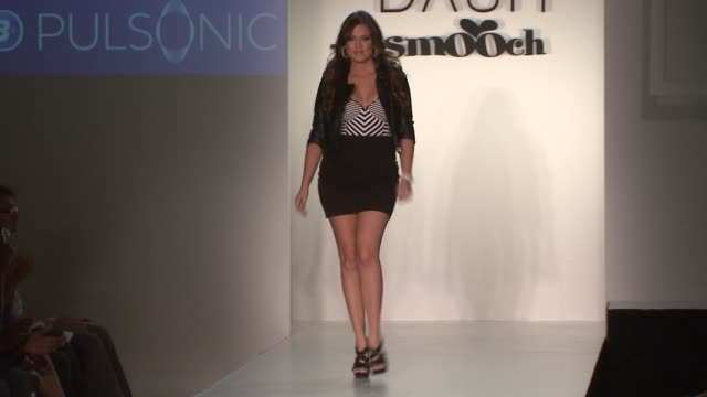 khloe kardashian at the presentation of dash and smooch collections curated by khloe kardashian at new york ny. - 2008 stock videos & royalty-free footage