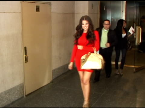 Khloe Kardashian in New York at the Celebrity Sightings in New York at New York NY