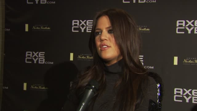 Khloe Kardashian Odom on hosting tonight's AXE party at the Axe CYB Party Sundance Film Festival 2010 at Park City UT