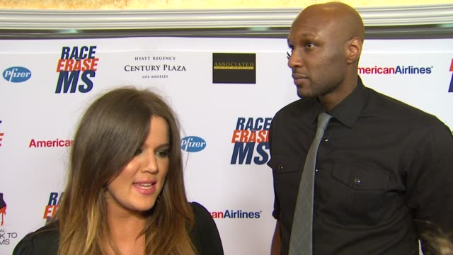 khloe kardashianodom lamar odom on being a part of the night why they need to keep ms in the spotlight what advice she gave her sisters for walking... - race to erase ms stock videos and b-roll footage