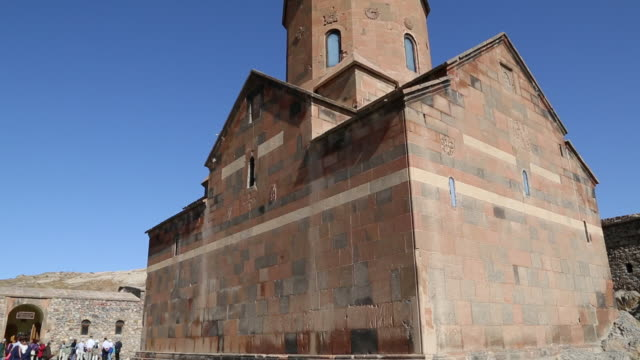 Khor Virap monastery, exterior view of the church of the Holy Mother of God, Saint Astvatsatsin