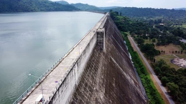khun dan prakan chon dam in nakhon nayok,thailand - dam stock videos & royalty-free footage
