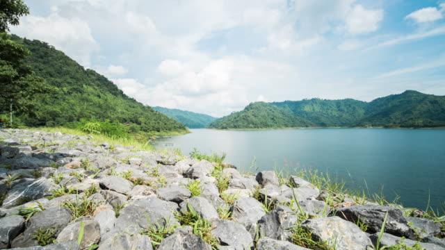 Khundan Prakanchon Dam at Nakhon Nayok Province, Thailand