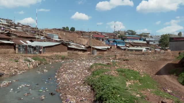 kibera - slums district in nairobi - slum stock videos & royalty-free footage