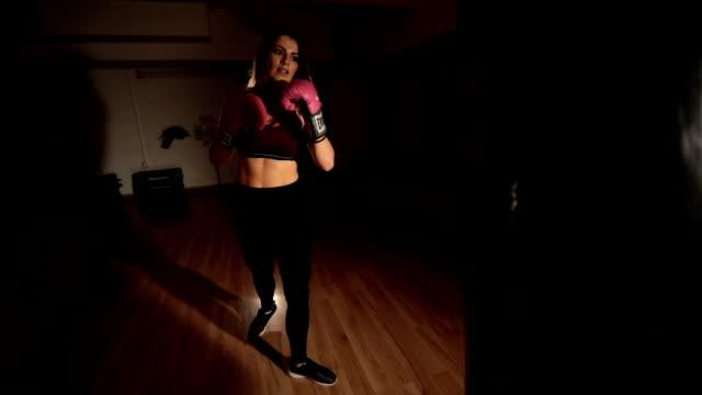 kick it - kickboxing stock videos & royalty-free footage