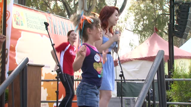 Kicking Daisies at the Elizabeth Glaser Pediatric AIDS Foundation's 22nd Annual 'A Time For Heroes' Celebrity Carnival at Los Angeles CA