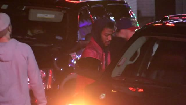 Kid Cudi departs Chateau Marmont in West Hollywood 04/17/13