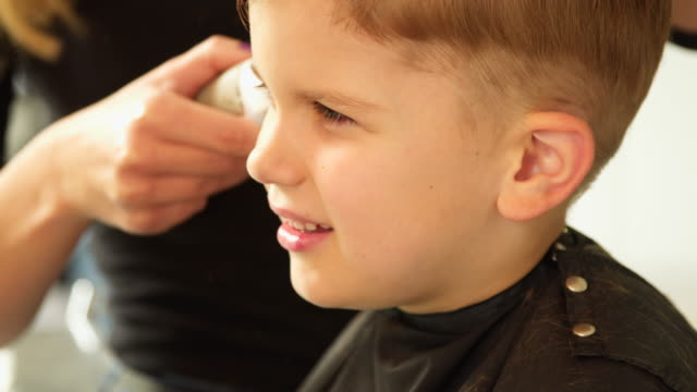 kid haircut - cutting hair stock videos and b-roll footage
