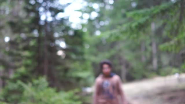 kid in forest - only teenage boys stock videos & royalty-free footage