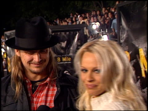 kid rock at the '8 mile' premiere on november 6, 2002. - kid rock stock videos & royalty-free footage