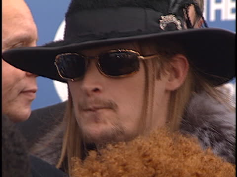 kid rock at the grammy awards 2000 at staples center los angeles in los angeles, ca. - kid rock stock videos & royalty-free footage