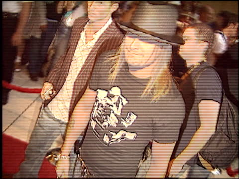 kid rock at the world music awards 2005 at the kodak theatre in hollywood, california on august 31, 2005. - kid rock stock videos & royalty-free footage