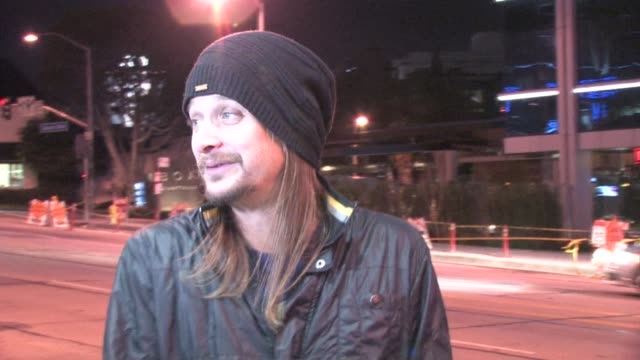 kid rock outside trousdale in west hollywood at the celebrity sightings in los angeles at los angeles ca. - kid rock stock videos & royalty-free footage
