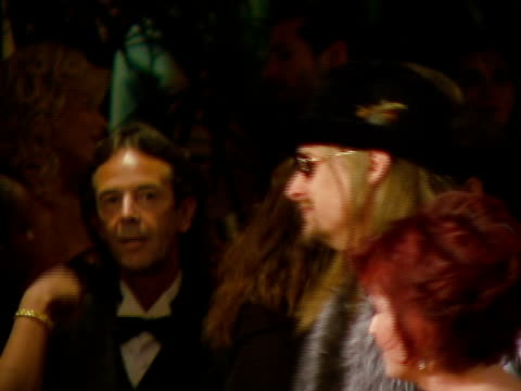kid rock, sharon osbourne at the legendary clive davis pre-grammy party at beverly hills california. - kid rock stock videos & royalty-free footage