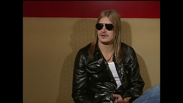 kid rock talks about touring - kid rock stock videos & royalty-free footage