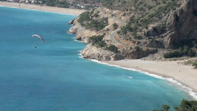 vídeos de stock, filmes e b-roll de kidrak beach - fethiye
