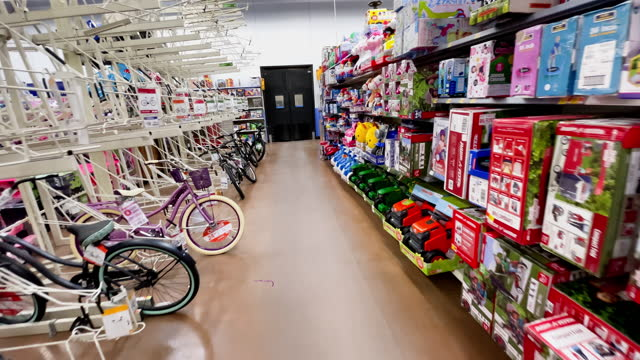kids bicycles sales encourage parents to purchase helmets on march 30 in los angeles, california. - children only stock videos & royalty-free footage