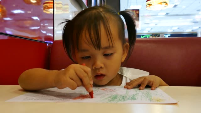 kids coloring - crayon stock videos and b-roll footage