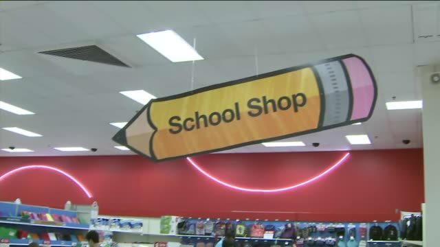 KTLA Kids Going Back To School Shopping