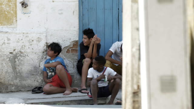 Kids in Cuba on street