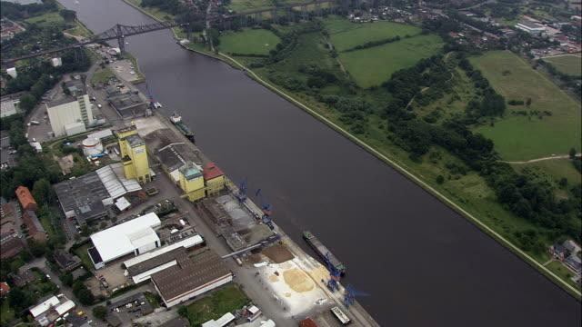 Nord-Ostsee-Kanal bei Rendsburg - Luftbild - Schleswig-Holstein, Deutschland