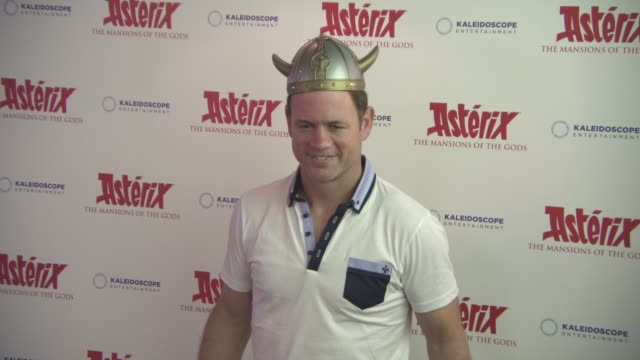 kieran bracken at 'asterix the mansions of the gods' gala screening on august 7 2016 in london england - bracken stock videos and b-roll footage