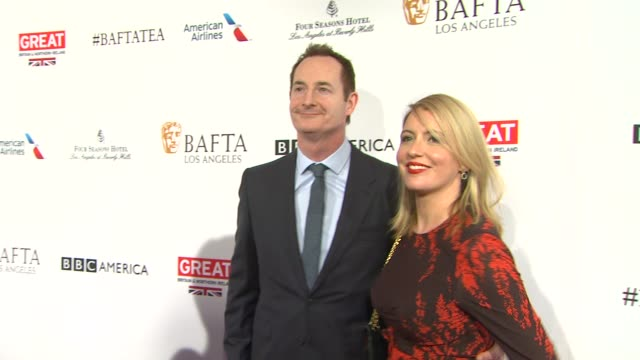 kieran breen at the bafta los angeles awards season tea party at four seasons hotel los angeles at beverly hills on january 09 2016 in los angeles... - tea party stock videos and b-roll footage