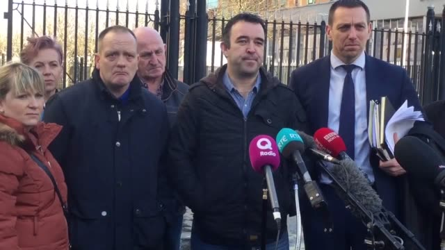 Kieran Fox whose father Eamon was murdered by loyalists reacts to sentencing of Gary Haggarty