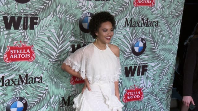 kiersey clemons at 10th annual women in film pre-oscar cocktail party presented by max mara and bmw at nightingale plaza on february 24, 2017 in los... - nightingale stock videos & royalty-free footage