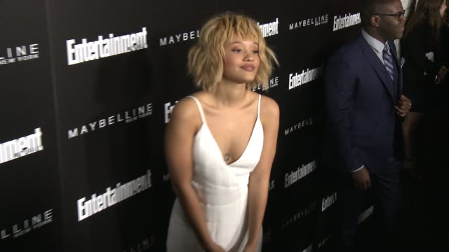 kiersey clemons at 2016 entertainment weekly screen actors guild party at chateau marmont on january 29 2016 in los angeles california - entertainment weekly stock-videos und b-roll-filmmaterial