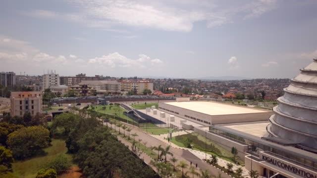 kigali convention centre (kcc) - キガリ点の映像素材/bロール