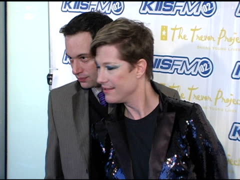 kiki and herb at the trevor project's 'cracked xmas 7' honoring debra messing and megan mullally at the wiltern theater in los angeles california on... - debra messing stock videos and b-roll footage