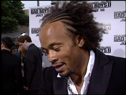 vídeos de stock, filmes e b-roll de kiko ellsworth at the 'bad boys ii' premiere on july 9 2003 - bad boys ii