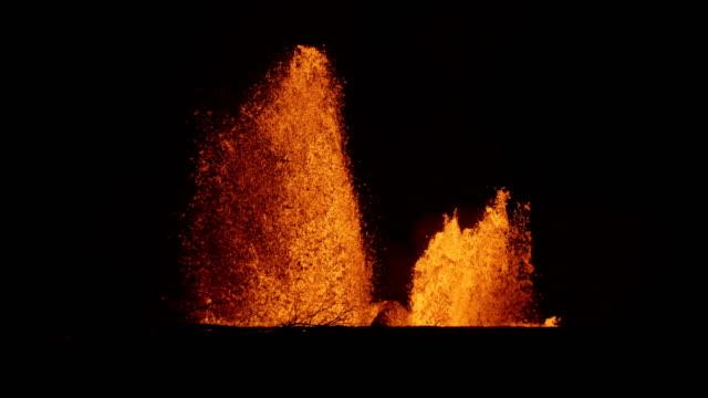 kilauea eruption - erupting stock videos & royalty-free footage
