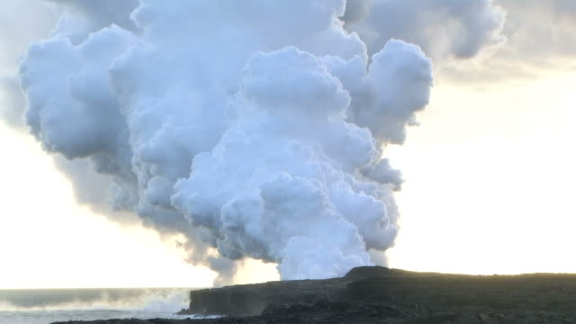 hd: kilauea volcano. timelapse (video) - big island hawaii islands stock videos & royalty-free footage