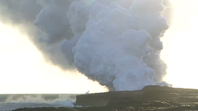 hd, ntsc: kilauea volcano (video) - kilauea stock videos & royalty-free footage