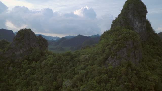 kilim karst geoforest park - langkawi stock videos and b-roll footage