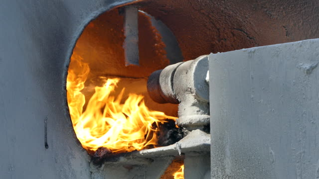 vídeos de stock e filmes b-roll de forno de asfalto máquina de mistura - cilindro veículo terrestre comercial