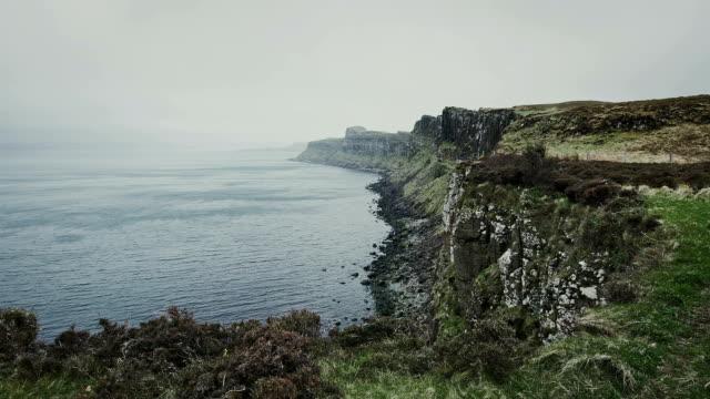 kilt rock, isle of skye - kilt stock videos & royalty-free footage