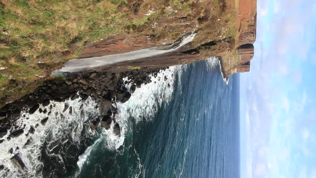 Kilt Rock Waterfall Scotland