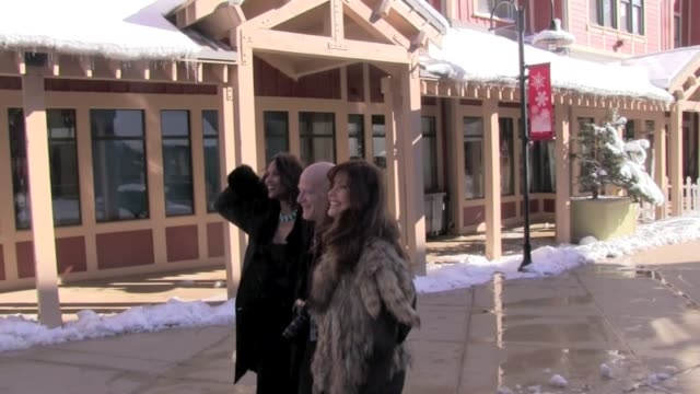 kim alexis and beverly johnson at the sundance film festival 01/22/12 in celebrity sightings in park city, utah - sundance film festival stock-videos und b-roll-filmmaterial